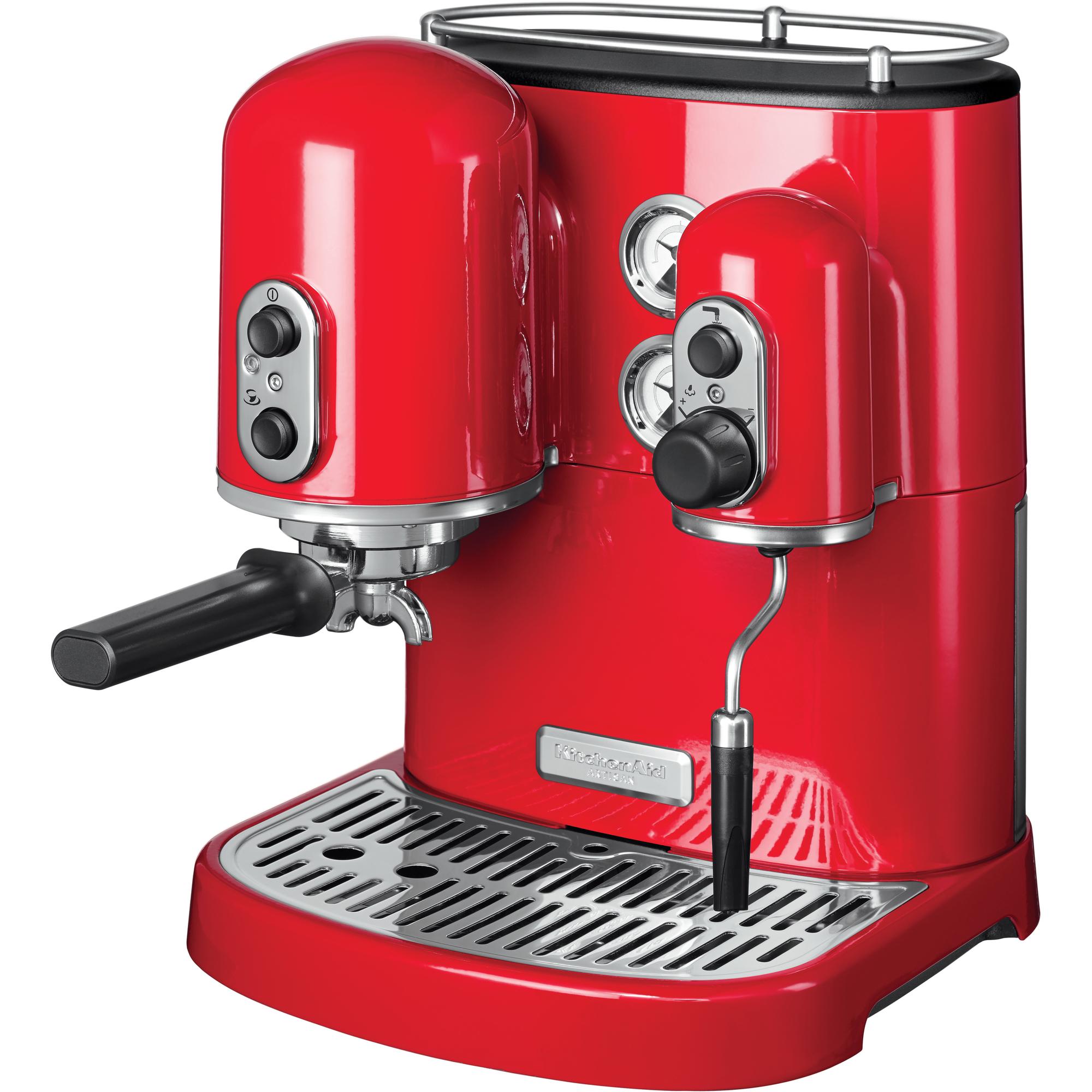 kitchenaid artisan espressomaschine 5kes2102 5kes2102 wer haushaltskleinger te. Black Bedroom Furniture Sets. Home Design Ideas