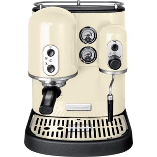 kitchenaid artisan 5kes100 espressomaschine professionelle kaffee espresso ebay. Black Bedroom Furniture Sets. Home Design Ideas
